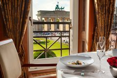 Restaurant Lorenz Adlon Esszimmer impressions and views